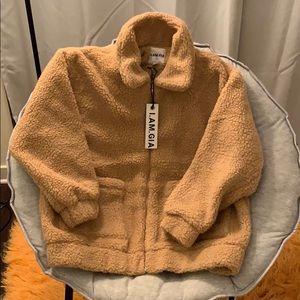 I.AM.GIA Pixie Coat Carmel
